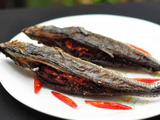 Ikan Cencaru Sumbat. Foto: iResepi